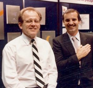 Jack Wayman and Richard Snowden(Circa 1980)