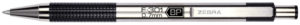 F-301 Retractable Ballpoint 0.7mm Black